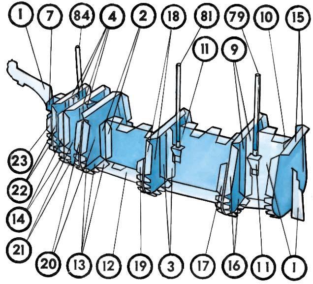 чертежи замков из бумаги